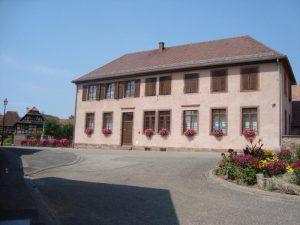 La Mairie d'Osthoffen